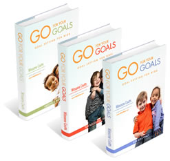 Go for Your Goals - Goal Setting for Kids (Set of 3 Ebooks)